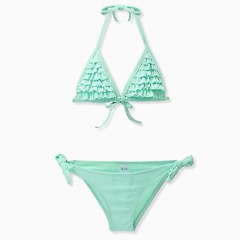Mädchen Kinder Bademode, Badeanzug - Bikini Set