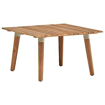 Gartentisch 60X60X36 Cm MassiveS Akazienholz