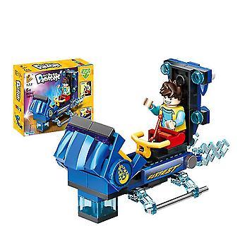 692002# Huvipuisto maailmanpyörähyppääjä sarja koottu rakennuspalikat lasten lelut az13105