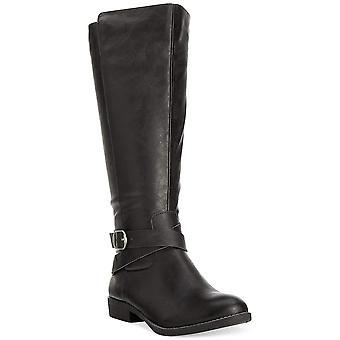Stijl & Co. Womens Madixe amandel Teen Fashion knie hoge laarzen