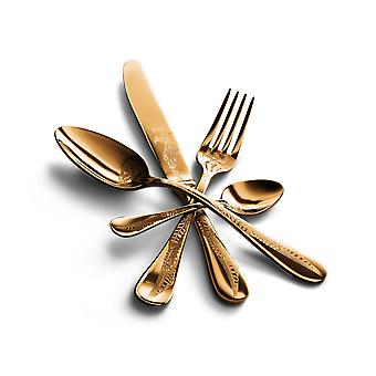 Mepra Caccia Oro 4 pcs flatware set
