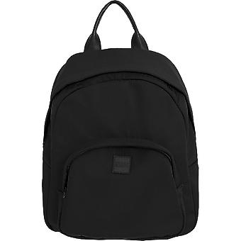 Urban classics - MIDI nylon back pack backpack black