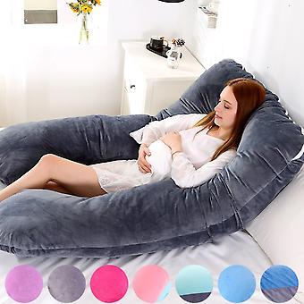 116x65cm Schwangeres Kissen für Schwangere Kissen für Schwangere Kissen der Schwangerschaft Mutterschaft Unterstützung Stillen für den Schlaf