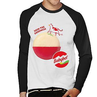 Baby Bel Gå med i godheten mäns baseball långärmad T-shirt