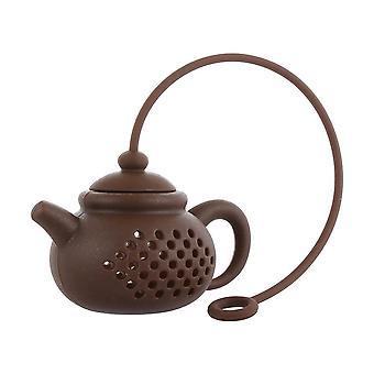 Teapot-shape Infuser Strainer Silicone Tea Bag