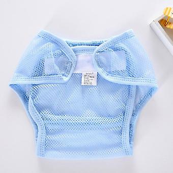 New Washable Mesh Pocket Nappy Newborn Summer Breathable Diapers Infant Cotton