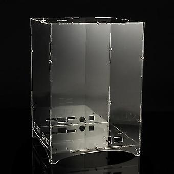 Led 3d Light Cube Kit Acrylic Case- Music Spectrum Shellbox