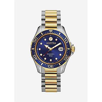 Roamer 220660 47 45 20 Rockshell Mark III Blue Dial Wristwatch