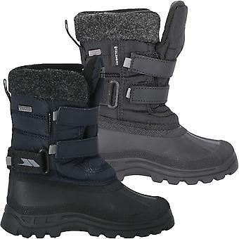 Trespass Дети Молодежь Strachan II Водонепроницаемые уличные снежные ботинки