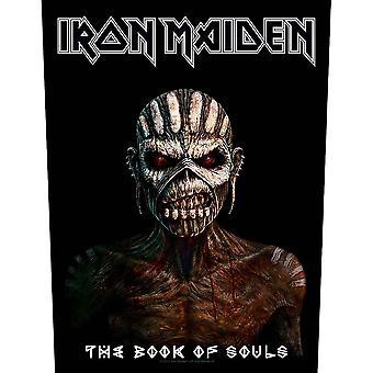 Iron maiden back patch: het boek der zielen