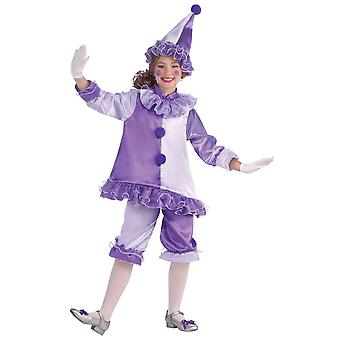 Violet The Clown Circus Deluxe Dress Up Girls Costume
