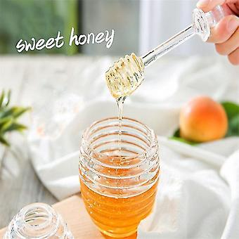 Storage tanks honey pot acrylic jams storage kitchen container