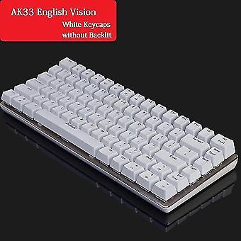 Keyboards qwert mechanical keyboard gamer keyboard white3