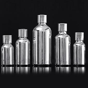 Bottiglie contagocce in vetro metallizzato in stile moderno (50ml)