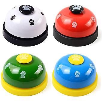 Pet Training Bell, Press Bell for Puppy Toilet Training / Interaktivní krmení bílé, červené, zelené, modré