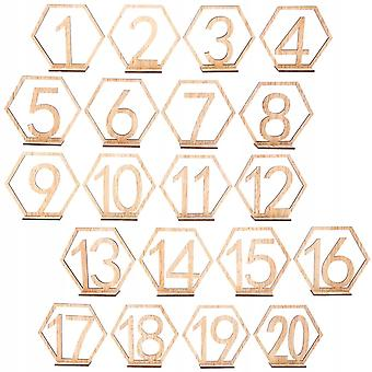 20 Pcs. Place Cards Table Number Table Numbers