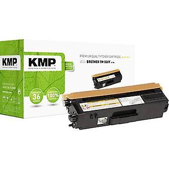 Cartucho de tóner KMP reemplazó a Brother TN-326Y, TN326Y Compatible Yellow 3500 Sides B-T64