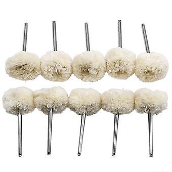 Polishing Buffing Wool Cotton Wheel Brush Drill For Dremel Rotary Tool