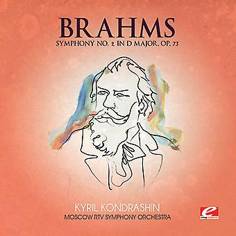 J. Brahms - Brahms: Sinfonie Nr. 2 in D-Dur, op. 73 [CD] USA import