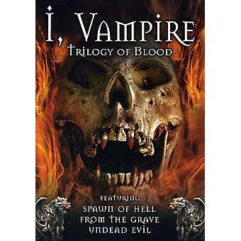 I Vampire: Trilogy of Blood [DVD] USA import