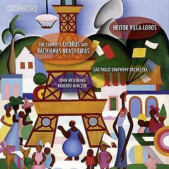 Solistes/Sao Paulo So - Villa-Lobos: The Complete Choros et Bachianas Brasileiras [CD] USA importent