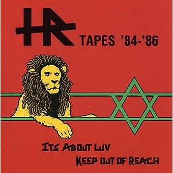 Hr - Tapes '84-86 [CD] USA import