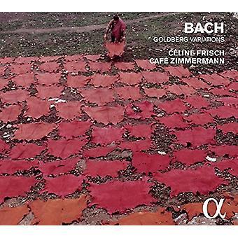 フリッシュ、セリーヌ/カフェ ・ ツィンマーマン - バッハ: ゴールドベルク変奏曲 [CD] USA 輸入