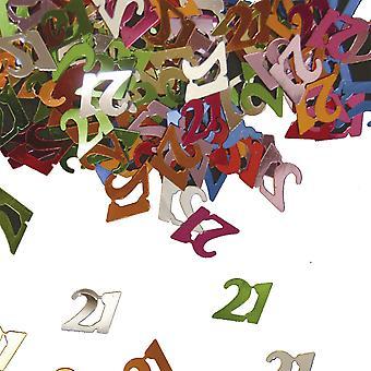 Festa de aniversário de confete do Deco mesa confetes número 21