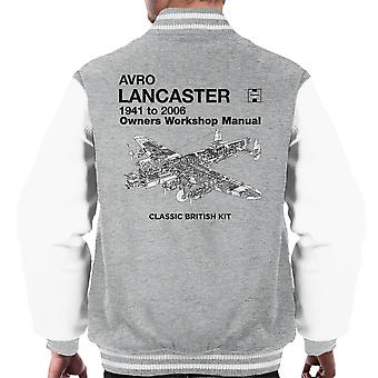 Haynes Owners Workshop Manual Arvo Lancaster 1941 tot en met 2006 mannen Varsity Jacket