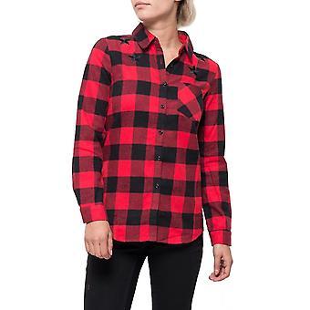 Verifiquei a camisa solta de estilo ocidental
