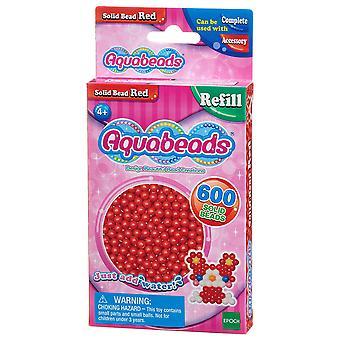 Aquabeads Solid pärla Pack - röd