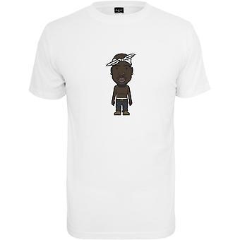 Mister t-stukoverhemd - LA schets wit