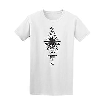 Mandala Moon And Star Tee Men's -Image by Shutterstock