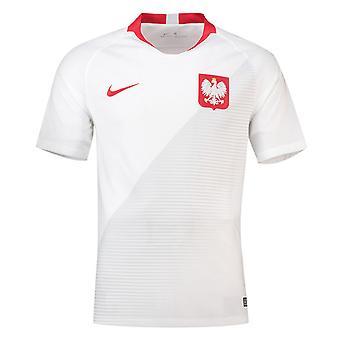 2018-2019 Polen Home Nike Fußballtrikot