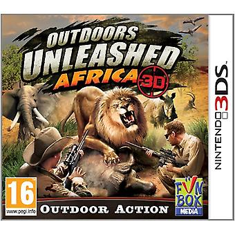 Outdoors Unleashed Africa 3D (Nintendo 3DS) - Novo