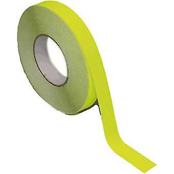B-SAFETY AR201025 Universal anti-slip coating Yellow (fluorescent) (L x W) 18.3 m x 25 mm