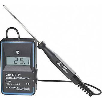 Termômetro Greisinger GTH 175/PT -199,9 até +199,9 °C Tipo Sensor Pt1000