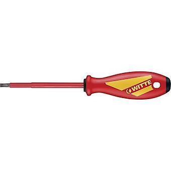 Witte Werkzeug MAXXPRO VDE VDE Slotted screwdriver Blade width: 5.5 mm Blade length: 125 mm DIN EN 60900
