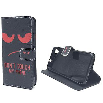 Dont Touch My Phone Handyhülle Huawei Y6 Klapphülle Wallet Case