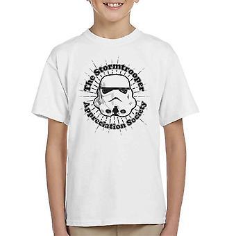 Original Stormtrooper Appreciation Society Kid's T-Shirt
