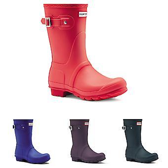 Womens Hunter originele korte Winter regen kaplaarzen waterdicht Rubber laarzen UK 3-9