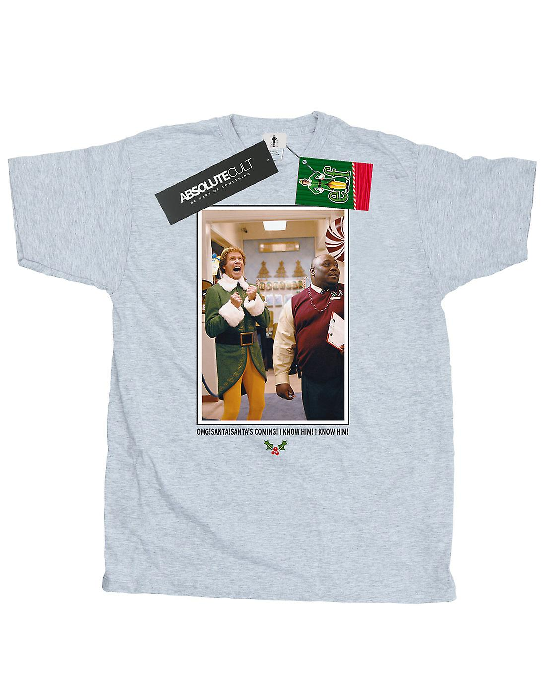 Elf Men's OMG Santa Photo T-Shirt
