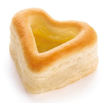 Pidy Mini Heart Shaped 'Apericoeur' Vol au Vents 4cm