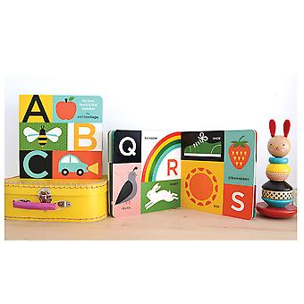 Petit Collage ABC My First Touch & See Alphabet Board Book
