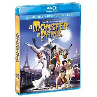 Monster in Paris 3D-2D [BLU-RAY] USA import