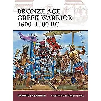 Bronze Age Greek Warrior 1600-1100 BC by Raffaele D'Amato - Giuseppe