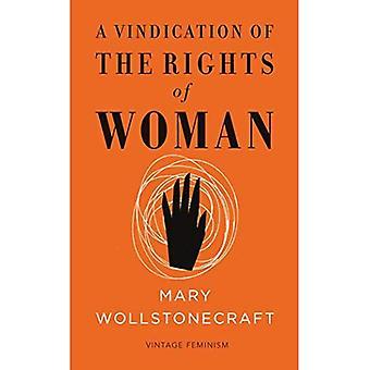 Una rivendicazione dei diritti della donna (femminismo Vintage breve edizione)