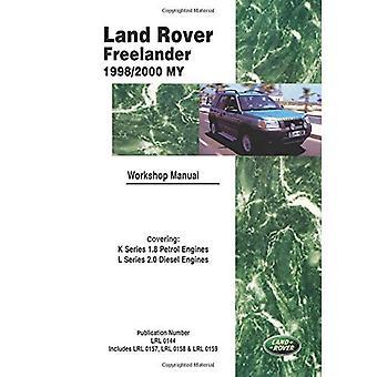 Land Rover Freelander Workshop handmatige 1998-2000