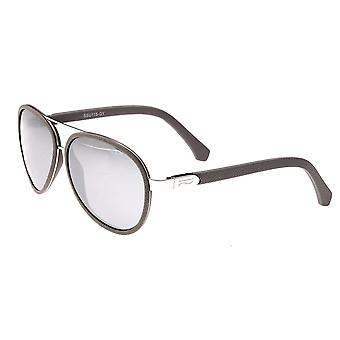 Simplify Stanford Polarized Sunglasses - Silver/Silver