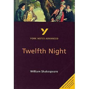 York Anteckningar Avancerad på Trettondagsafton av William Shakespeare (York Anteckningar Avancerad)